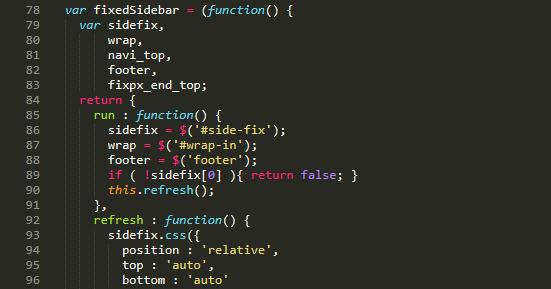 スペースが分からない Sublime Text のソースコード
