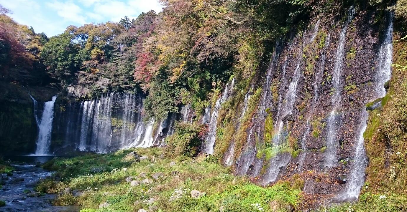静岡県富士宮市「白糸の滝」
