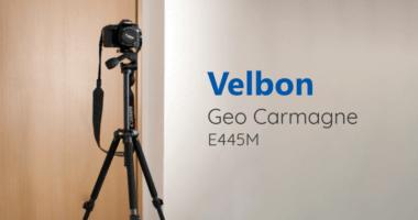 Velbon カーボン三脚 Geo Carmagne E445M を型落ちで安く購入できました