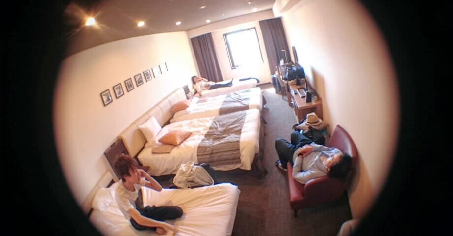 ホテルマイステイズ金沢4人部屋