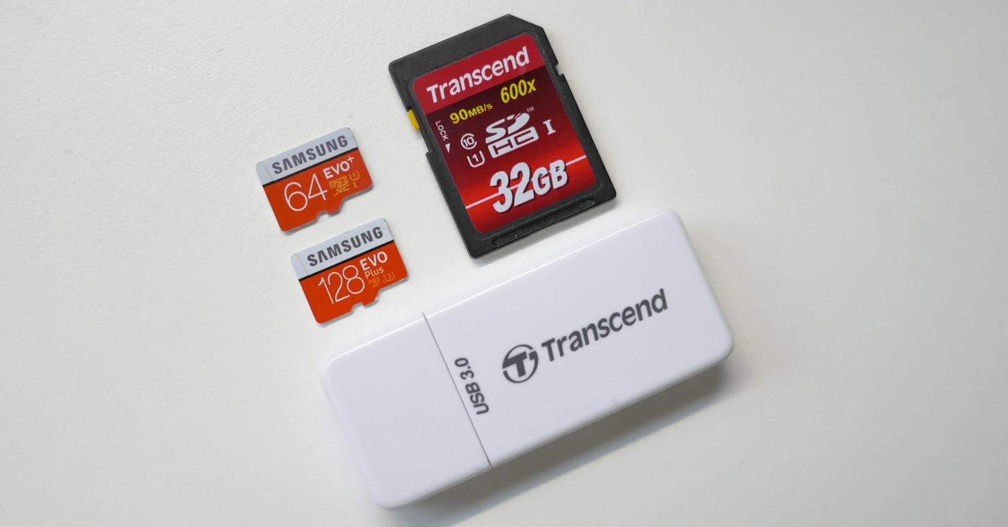 Transcend の SD カードリーダー RDF5