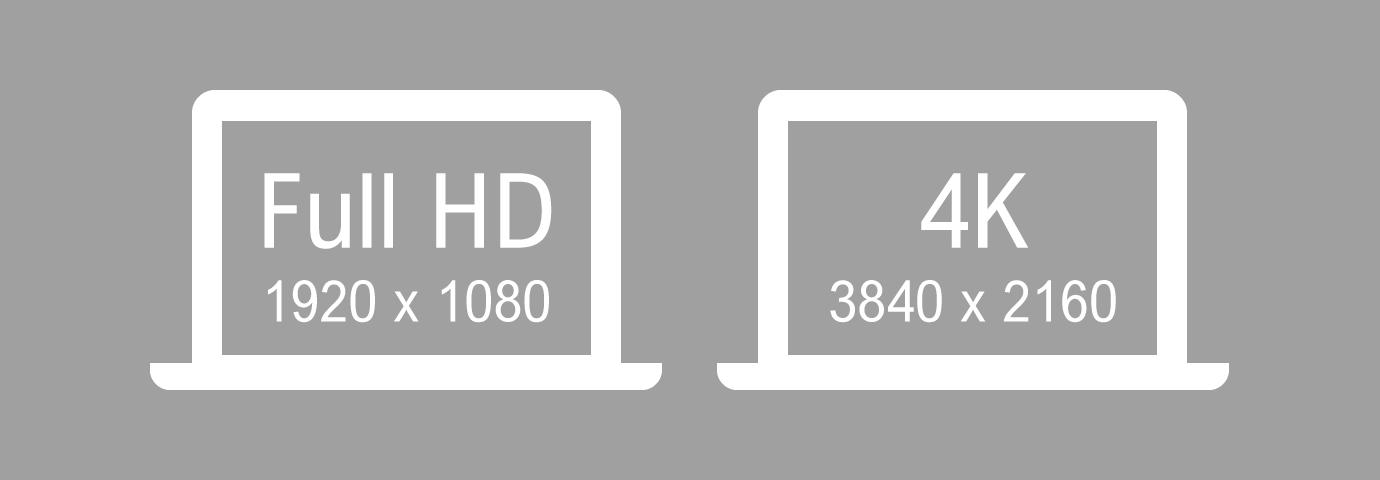 ディスプレイ FHD 4K どっちがいい
