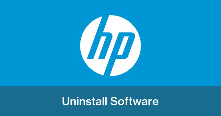 HPパソコンの不要なソフトを削除