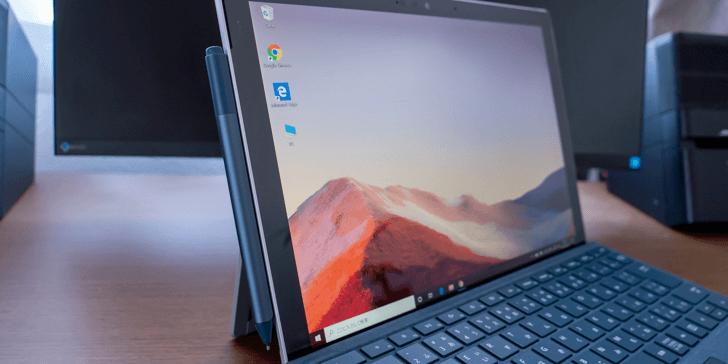 Surface Pen を Surface Pro 本体に装着