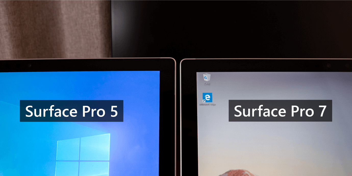Surface Pro の太いベゼル