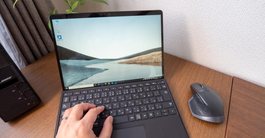 Surface Pro X 実機