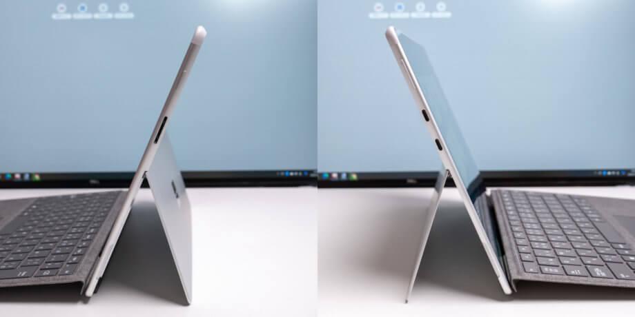 Surface Pro X 端子類