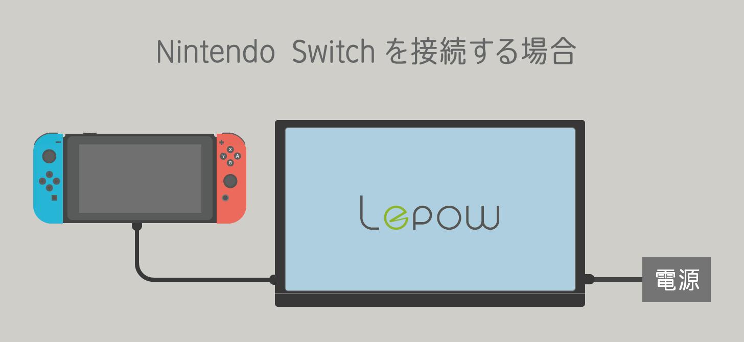 Lepow Z1 に Nintendo Switch を接続する方法