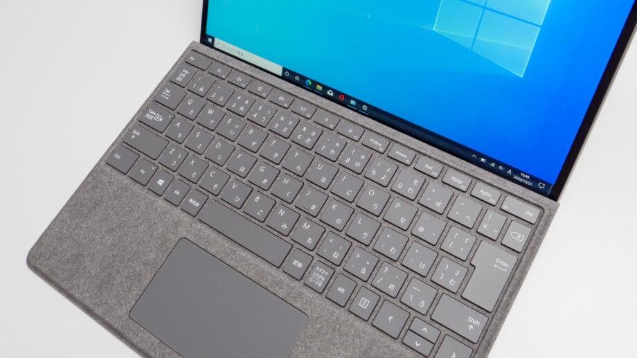 Surface Pro X キーボード 新色プラチナ