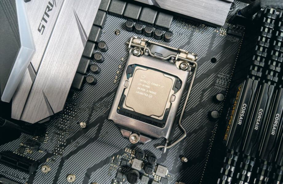 ASUS ROG STRIX Z370-F GAMING + Intel Core i7-8700K