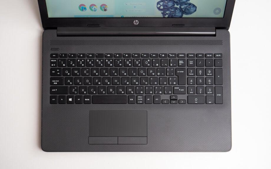 HP 250 G7 搭載のフルサイズキーボード