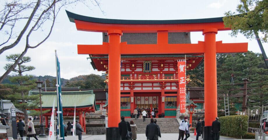 千本鳥居の名所「伏見稲荷大社」で初詣!身も心もリフレッシュして新年をスタートする