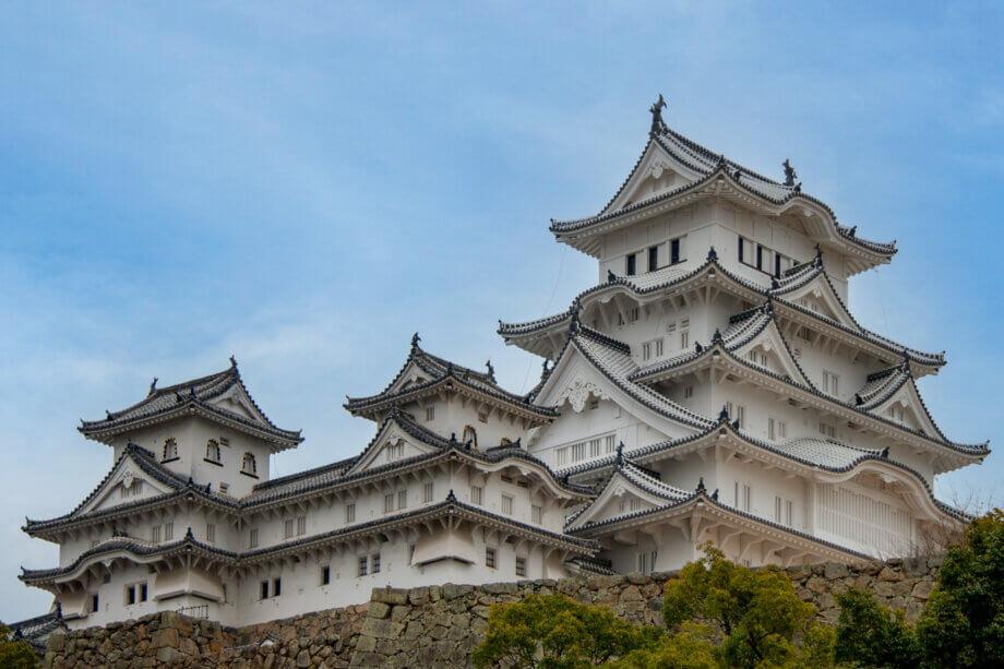 白い姫路城 白すぎ城