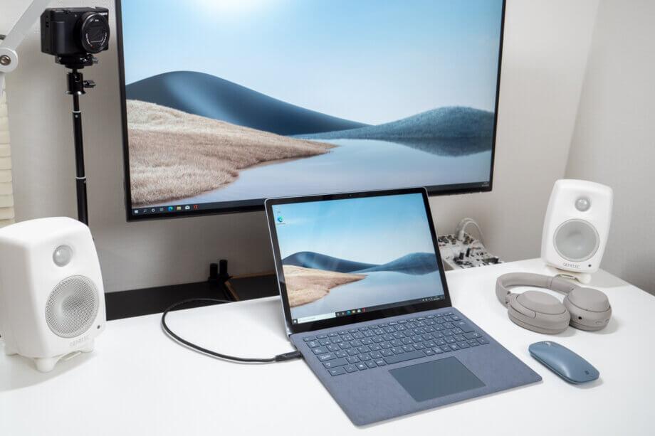 Surface Laptop 4 から外部モニター出力