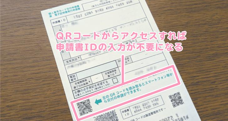 QRコードからオンライン申請サイトへアクセス
