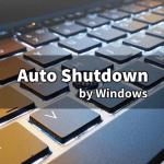 Windows で指定時間に自動的にシャットダウンさせる方法