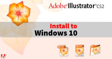 Windows 10 に Adobe Illustrator CS2 をダウンロードしてインストールする方法