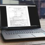 開業届や青色申告の申請書の PDF はパソコンから入力することができる