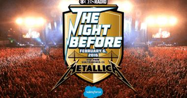 METALLICA の公式無料ライブ動画配信「The Night Before」