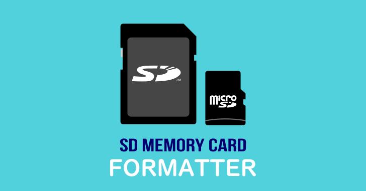 SDカードフォーマッター