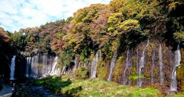 静岡のパワースポット「白糸の滝」までのアクセスと駐車場の情報