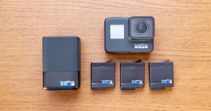 GoPro 予備バッテリーとチャージャー
