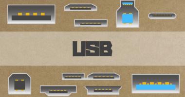 種類が多い USB の規格・コネクターの形状を一覧化してみた