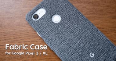 Google Pixel 3 XL 純正ファブリックケースの汚れを綺麗にする方法