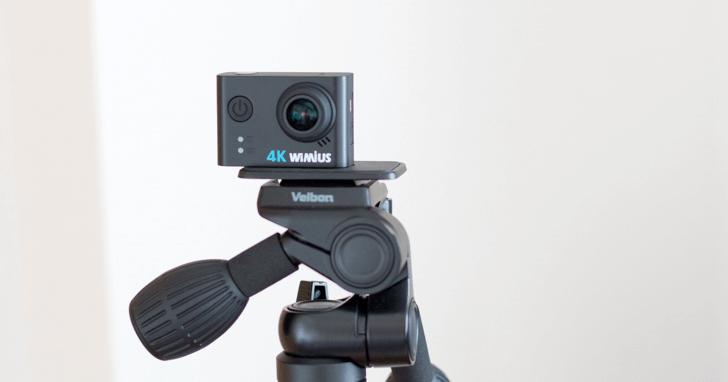 WIMIUS L2 4K アクションカメラは初心者におすすめ